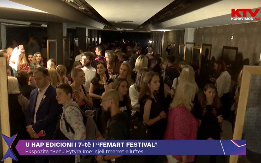 """Koha.Net – Hapet edicioni i 7-të i """"FemArt Festival"""" me ekspozitën """"Bëhu Fytyra Ime"""""""